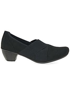 Rieker Overture Standard Fit Court Shoes