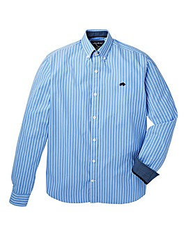 Raging Bull Mighty Wide Stripe Long Sleeve Shirt