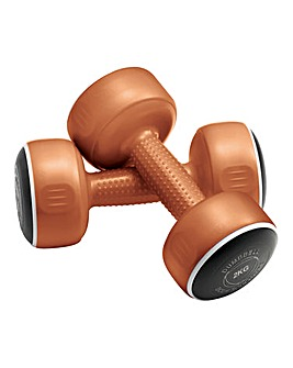 Bodysculpture Set of 2 x 2kg Dumbbells