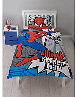 Ultimate Spiderman Hang Single Duvet