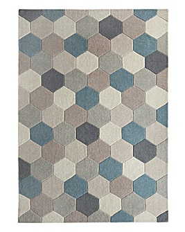 Hexagon Pattern Rug