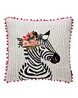 Riva Funky Zebra Cushion
