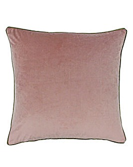 Riva Velvet Piped Cushion