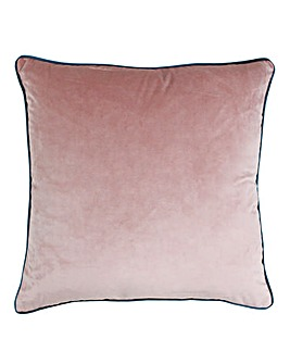 Riva Velvet Piped Cushion