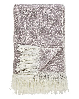 Bora Throw with Fringe