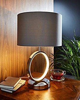 LED Circle Table Lamp