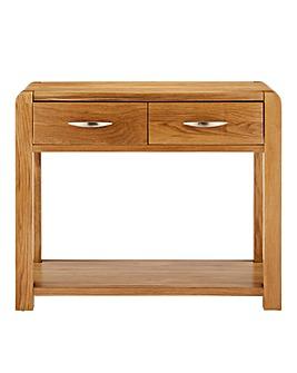 Hendon Oak Console Table