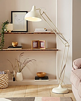 Cream Hobby Floor Lamp