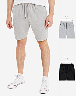 Two Pack Jog Short