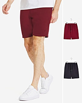 Two Pack Jog Shorts
