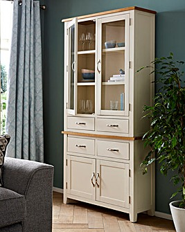 Norfolk Two Tone Tall Display Unit