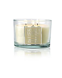 Baylis Jojoba 3 Wick Candle