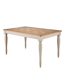 Charingworth Parquetry Dining Table