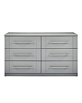 Lulworth Assembled 6 Wide Drawer Chest