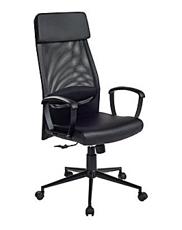 Habitat Omari Mesh  Office Chair
