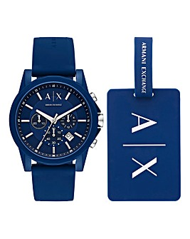 Armani Exchange Outerbanks Watch Set