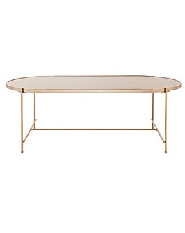 Home Boutique Coffee Table - Rose Gold