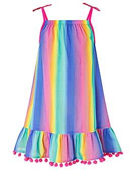 Accessorize Ombre Rainbow Dress