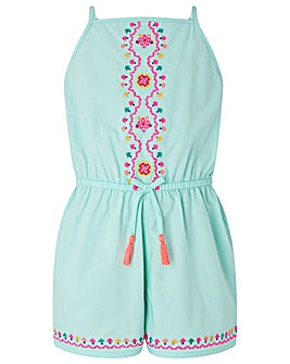 Accessorize Mandala Embroidered Playsuit