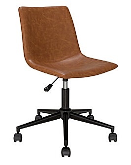 Habitat Joey Faux Leather Office Chair