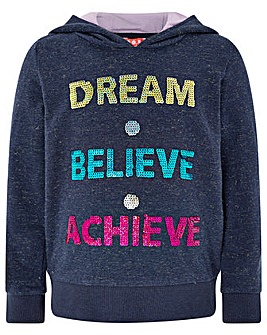 Monsoon Dream Believe Achieve Hoody