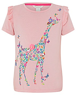 Monsoon Ginella Giraffe Tshirt