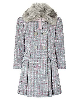 Monsoon Tabitha Tweed Coat