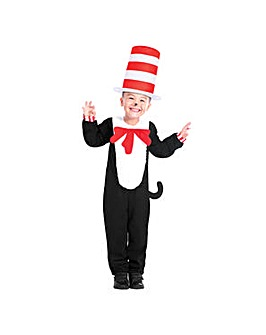Cat in The Hat Jumpsuit Costume