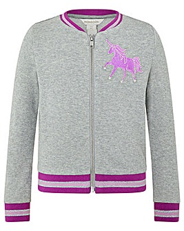 Monsoon Unicorn Bomber Jacket