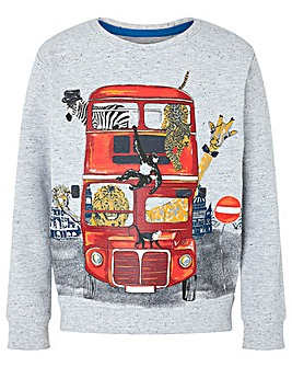 Monsoon Barney Bus Sweatshirt