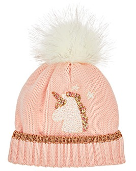 Monsoon Delilah Unicorn Fleece Hat