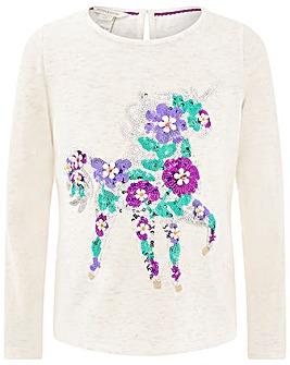 50953dec66fc9c Monsoon Eluna Unicorn T-Shirt