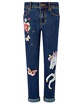 Monsoon Eliza Unicorn Jean