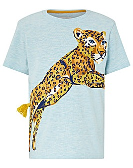 Monsoon Elijah Leaping Leopard Tshirt