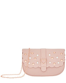 Monsoon Scallop Butterfly Studded Bag