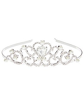 Monsoon Diamante Gala Heart Tiara