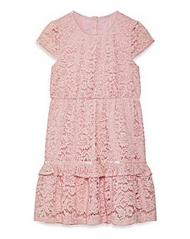 8e0ae2b8042 Yumi Girl Peplum Frill Lace Dress