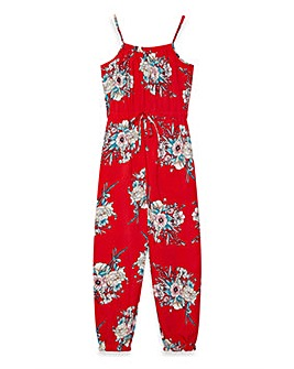 Yumi Girl Japanese Floral Jumpsuit
