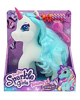 Sparkle Girls Unicorn Styling Set