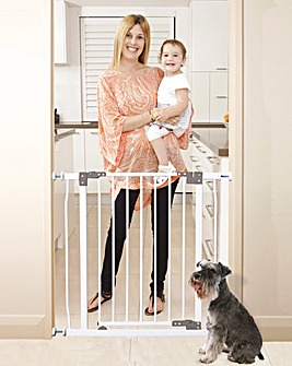 Dreambaby® Pressure Mounted Safety Gate with Stay-Open Feature