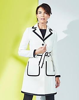 Textured Contrast Trim Coat