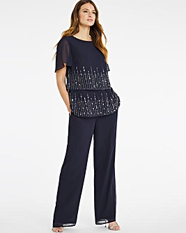 Nightingales Embellished Trouser Set