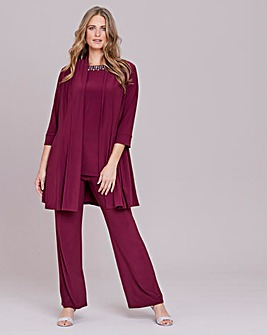 Nightingales 3 Piece ITY Trouser Set