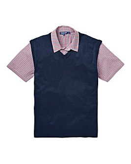 Premier Man Mock Collar Slipover