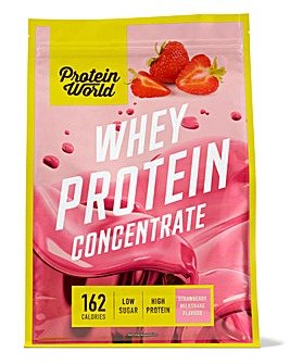 Whey Protein Concentrate 520g - Strawberry Milkshake