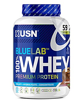 USN Blue Lab Whey Caramel Chocolate 2Kg