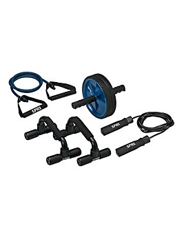 SPRI Home Gym Kit Blue Edition