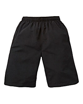 Capsule Black Leisure Shorts