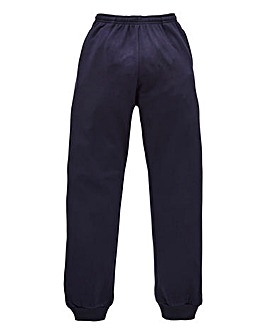 Capsule Navy Cuffed Jogging Pant 27in