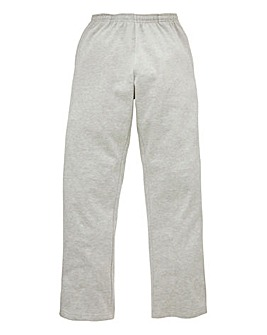 Capsule Grey Straight Hem Jog Pants 27in